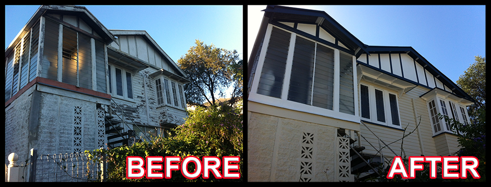 Exterior Painting Before 4